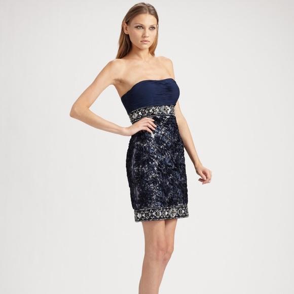 Sue Wong Dresses & Skirts - Sue Wong Nocturne Midnight Blue Jeweled Dress Sz8